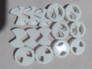 Al2O3 Ceramic Water Valves Disc from factory Water application 99% Alumina ceramic valves discs parts